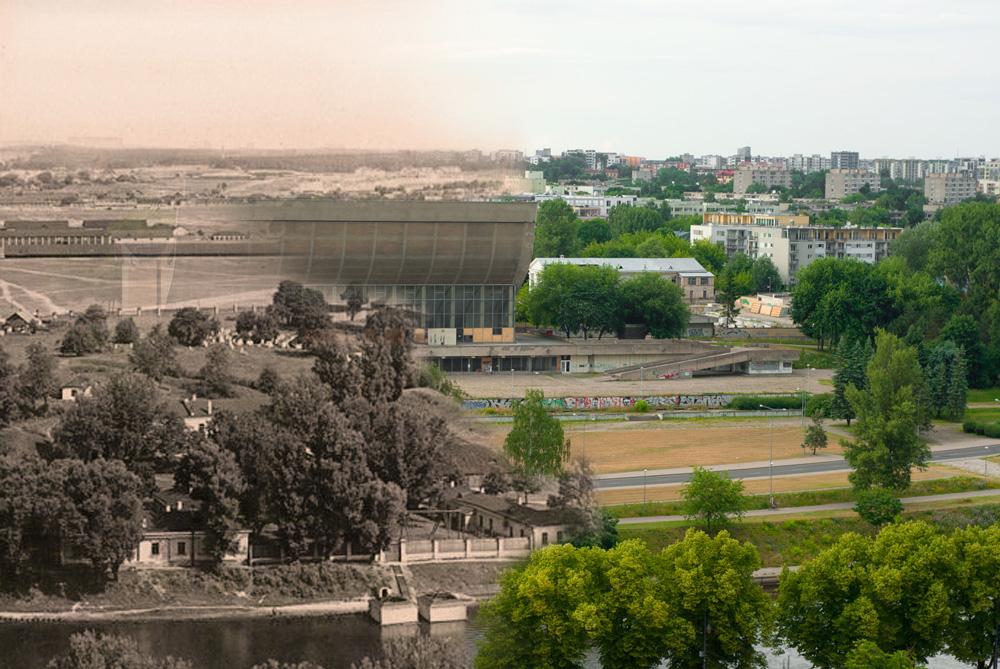 Žydų kapinės po sporto rūmais. Visi taškai ant i
