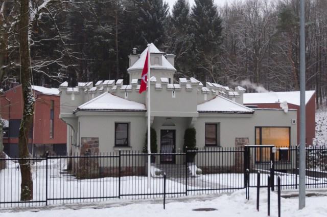 Namas Rasų g. 56 - buvusi komplekso sargybinė