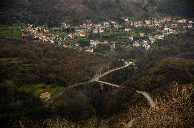 Priemiesčio panorama