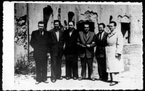 Išgyvenusių IX forto siaubą susitikimas 1947 metais.