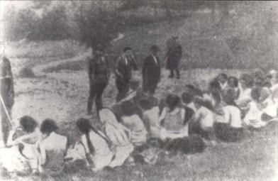 Moterys IX forte prieš egzekuciją, 1941 m.