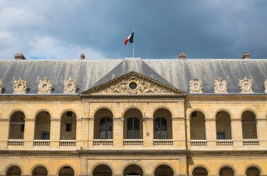 Rūmų kiemo fasadas