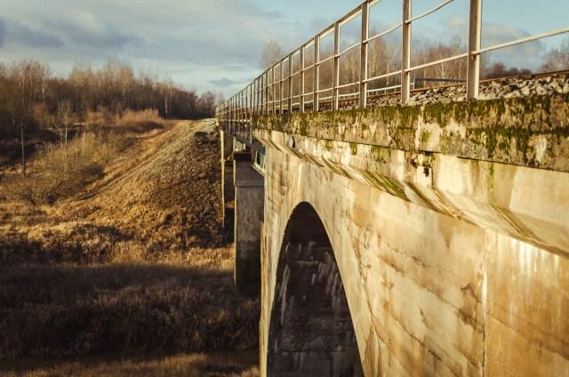 Tiltas iš pietryčių pusės