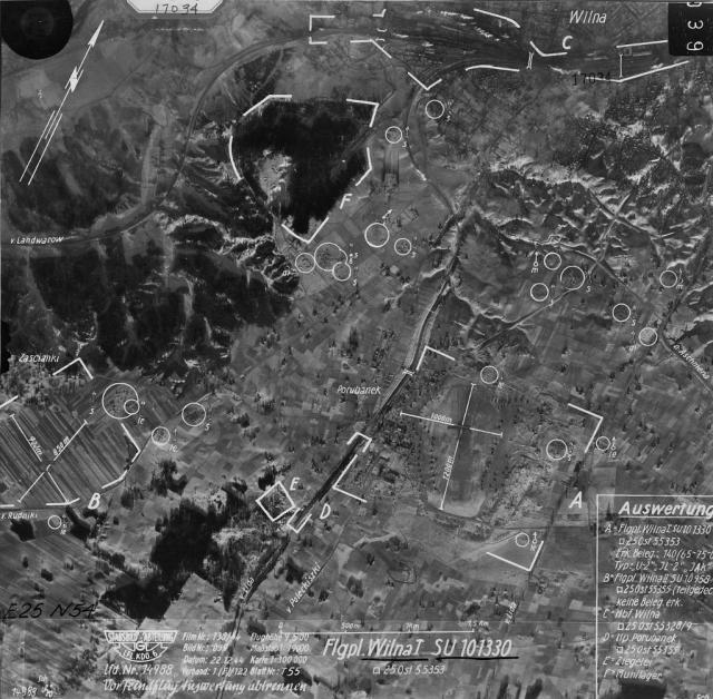 1944 m. gruodžio 22 d. ortofoto