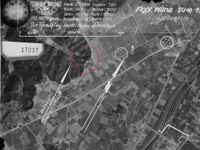 1944 m. liepos 19 d. ortofotografija
