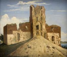 Pilis Trakuose (1854). Vincentas Dmochovskis