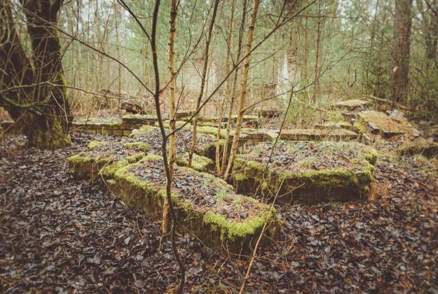 Iš kai kurių pastatų liko tik tokie griuvėsiai