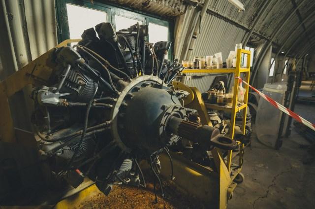 1200 Ag, 14 cilindrų Pratt & Whitney variklis