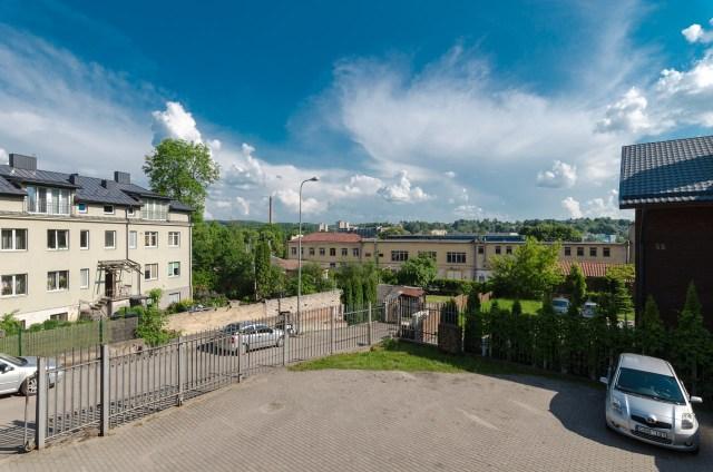Konservų fabriko pastatų panorama iš Polocko g.