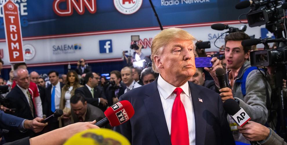 Bildergebnis für Trump journalists