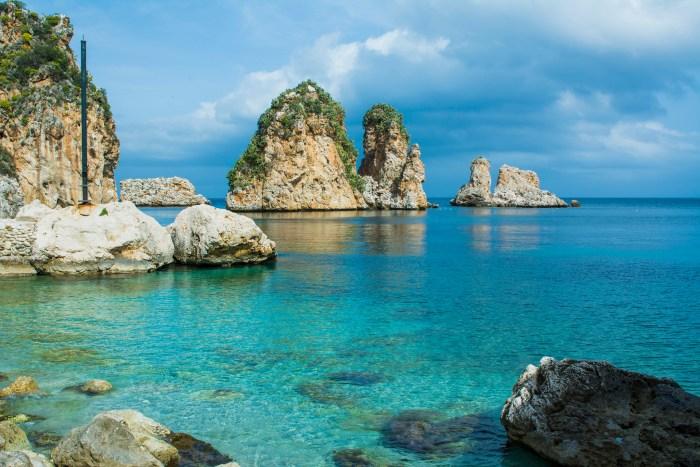 Scopello, Sycylia. Najpiękniejsze plaże w Trapani i okolicach.