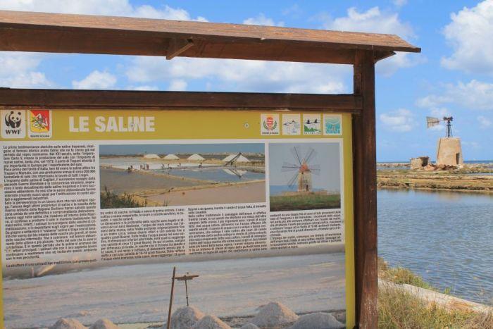 Saliny w Trapani, Rezerwat przyrody w Trapani, Rezerwat WWF w Trapani, Saliny w Nubii, Saline di Nubia, Trapani, Sycylia