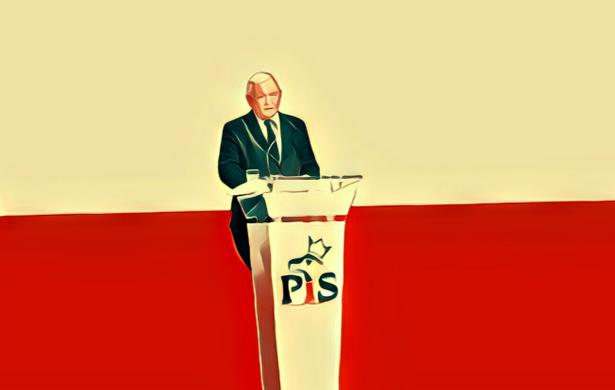 Demokracja. Jarosław Kaczyński przemawia
