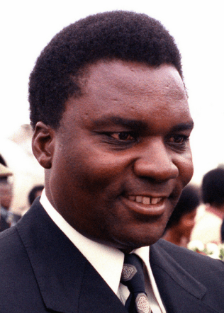 Juvénal Habyarimana, prezydent Rwandy