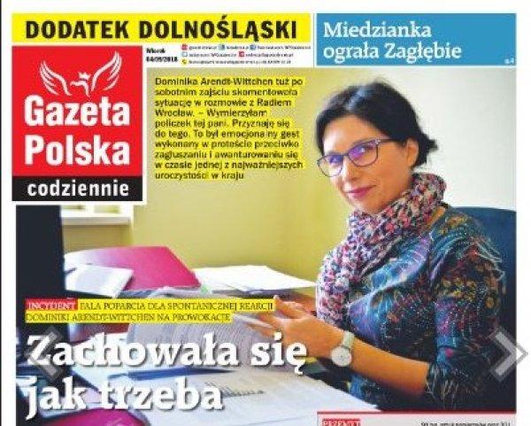 Dominika Arendt-Wittchen, asprawa Magdy Ogórek