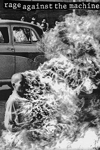 rage against the machine burning monk