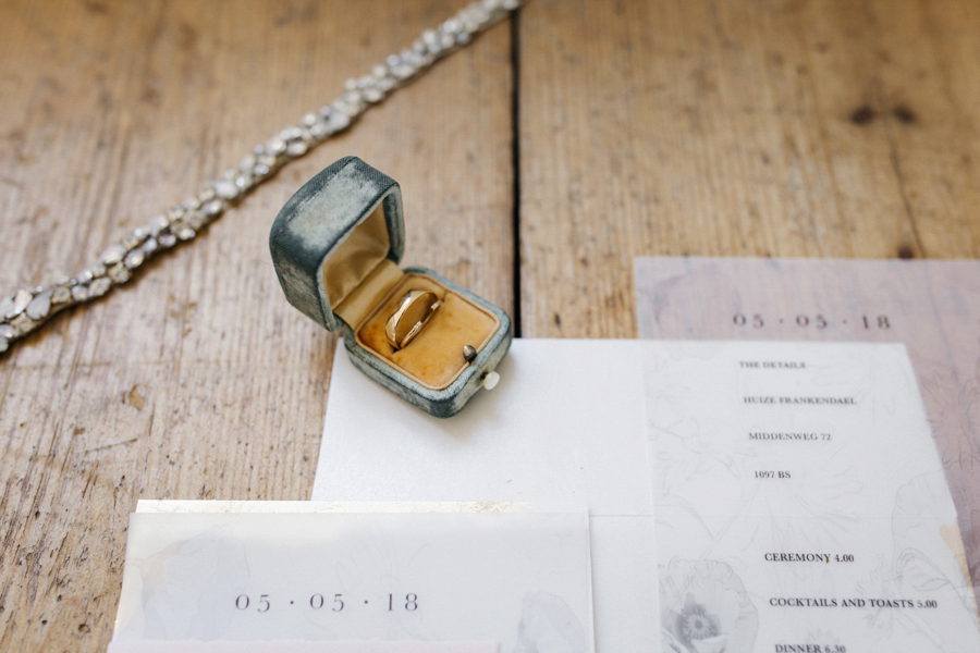 Amerikaanse Bruiloft Amber Simon Bij Huize Frankendael