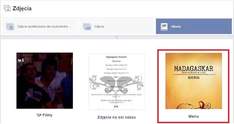 menu knajpa fb