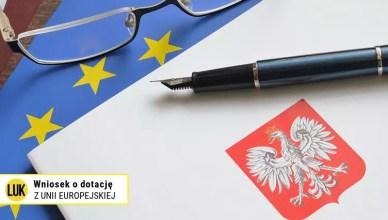 wniosek o dotację z unii europejskiej