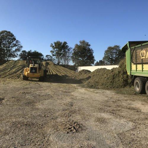 Maisernte 2019, Nierswalder Biogasanlage