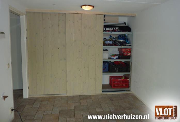 Schuifdeur Badkamer Hout : Spiegelkast badkamer hout mooi badkamer met schuifdeur van hout