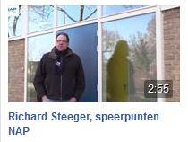 Richard Steger fractievoorzitter NAP neemt u mee