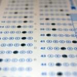 Multiple choice test antwoorden, foto door David Hartman