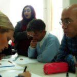 Mensen die samenwerken in een workshop, copyright Gokhan Okur
