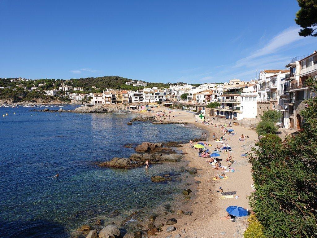 Mooiste stranden Costa Brava: Platja del Canadell
