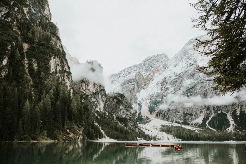 Roadtrippen door de bergen Italië