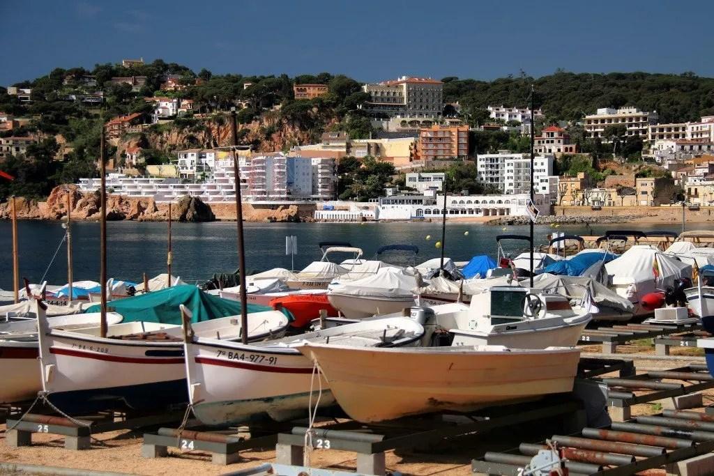 leuke badplaatsen Costa Brava: Sant Feliu de Guixols