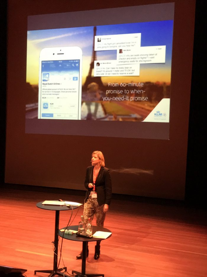 Karlijn Vogel-Meijer. Manager Social Media bij KLM