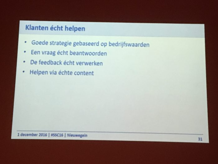 Social Strategie van Lidle