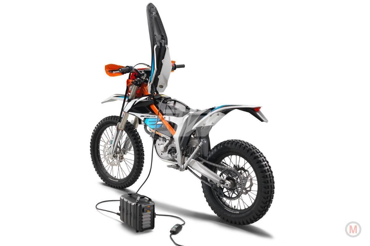 Ktm Vervangt Sx 50 Cc Snel Door Elektrische Esx E