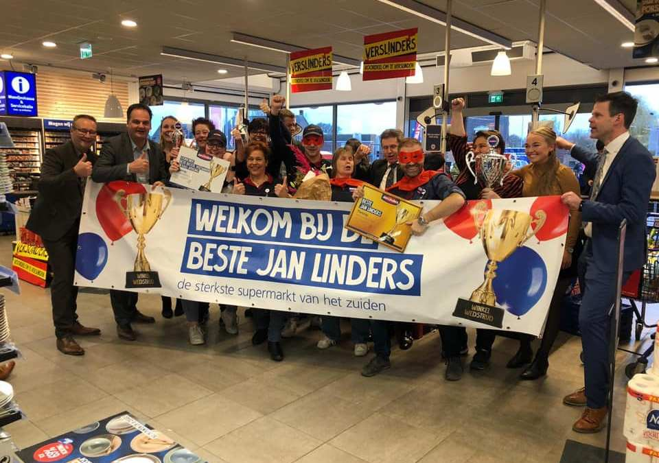 Beste Jan Linders supermarkt staat in Tienray