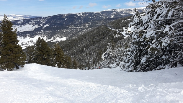 Una imagen de la gran temporada invernal de La Molina