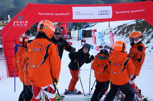 La Audi quattro Cup inicia su novena temporada este sábado en La Molina FOTO: RFEDI