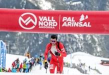 Kilian Jornet en la vertical Race