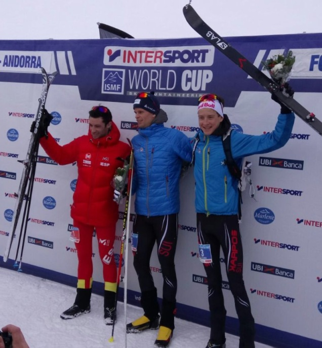 podio vertical race
