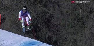 Séptima victoria de la temporada para Lara Gut en el descenso de Cortina d'Ampezzo FOTO: Eurosport