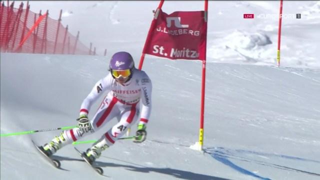 Anna Veith fue la gran triunfadora en Vail. Un año apartada de las pistas por culpa de una grave lesión le ha impedido volver a su rendimiento anterior FOTO: Eurosport