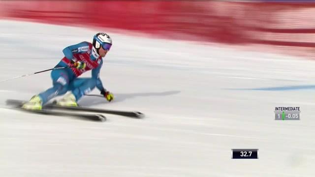 Se esperaba más de Kjetil Jansrud, ganador del descenso de ayer. Al final, séptimo en el super G FOTO: Eurosport