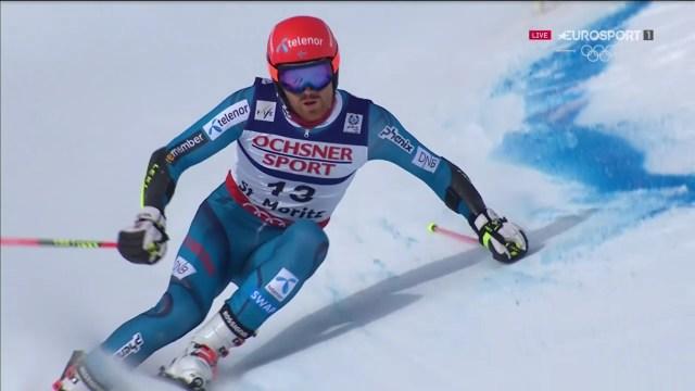 Leif Kristian Haugen ha sido, junto a Roland Leitinger, lasorpresa en el podio con su medalla de bronce FOTO: Eurosport