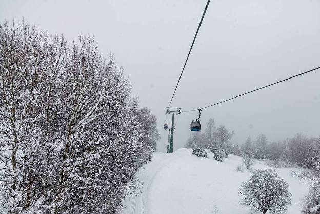 Una imagen de la nieve en Formigal panticosa