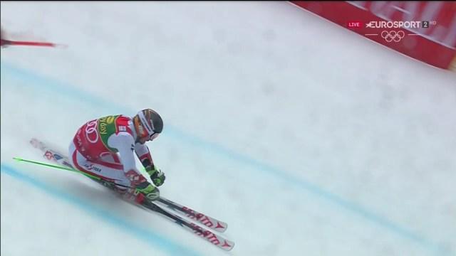 Hirscher ha podido con los rivales, la lluvia, la niebla y el viento en Kransjka Gora FOTO: Eurosport