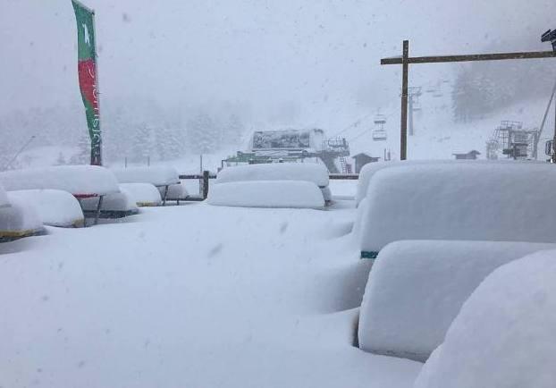 Las pistas turolenses han recibido medio metro de nieve fresca