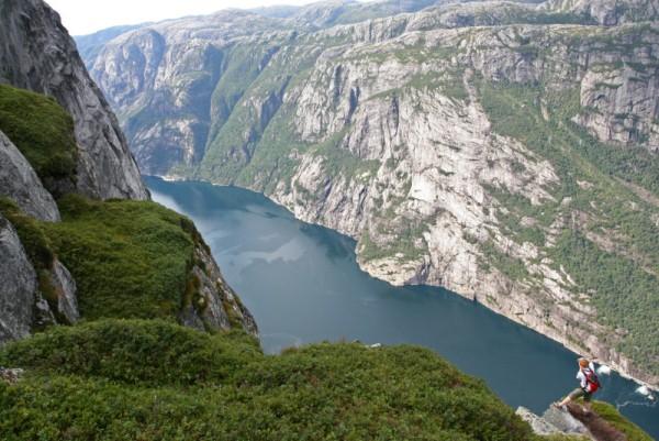 Paisaje inigualable el que ofrece la zona noruega