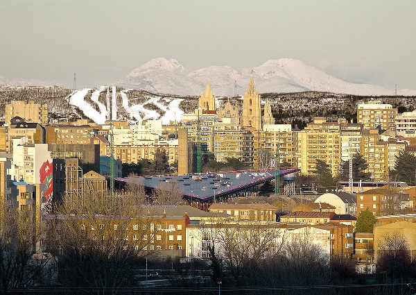 León podría estrenar una estación de esquí urbana en el año 2020