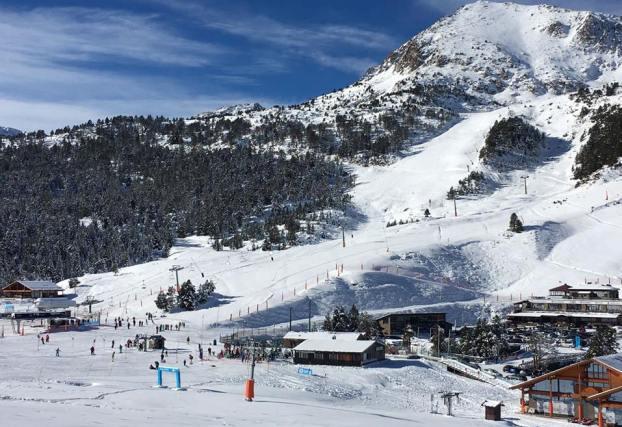 Vista de GrauRoig este pasado invierno