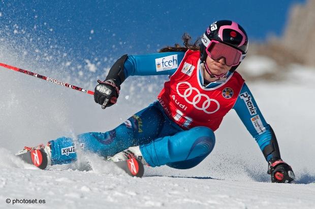 Anna Esteve comenzará con las disciplinas de velocidad